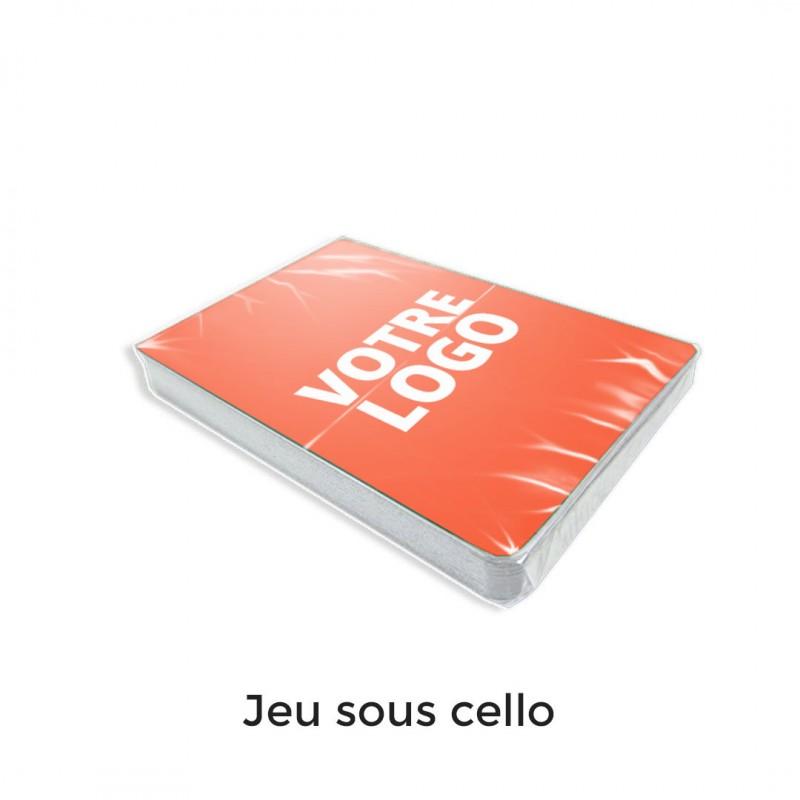 Jeu de belote - 33 cartes personnalisables