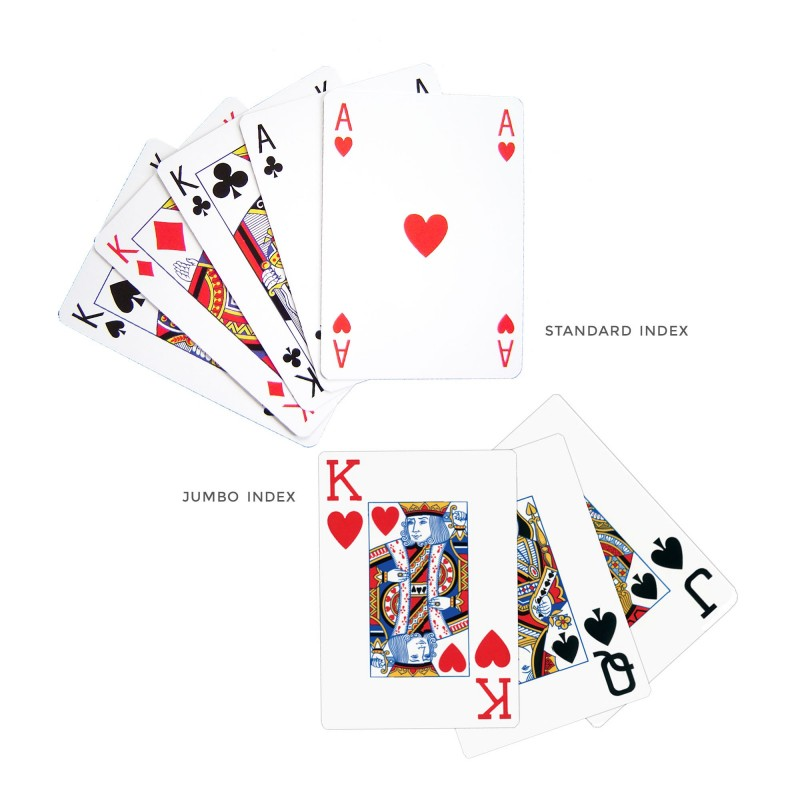 Jeu de poker - 55 cartes personnalisables