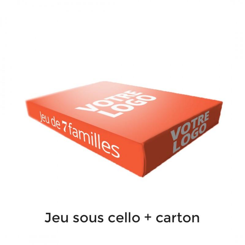 7 familles - Le cirque - 44 cartes personnalisables