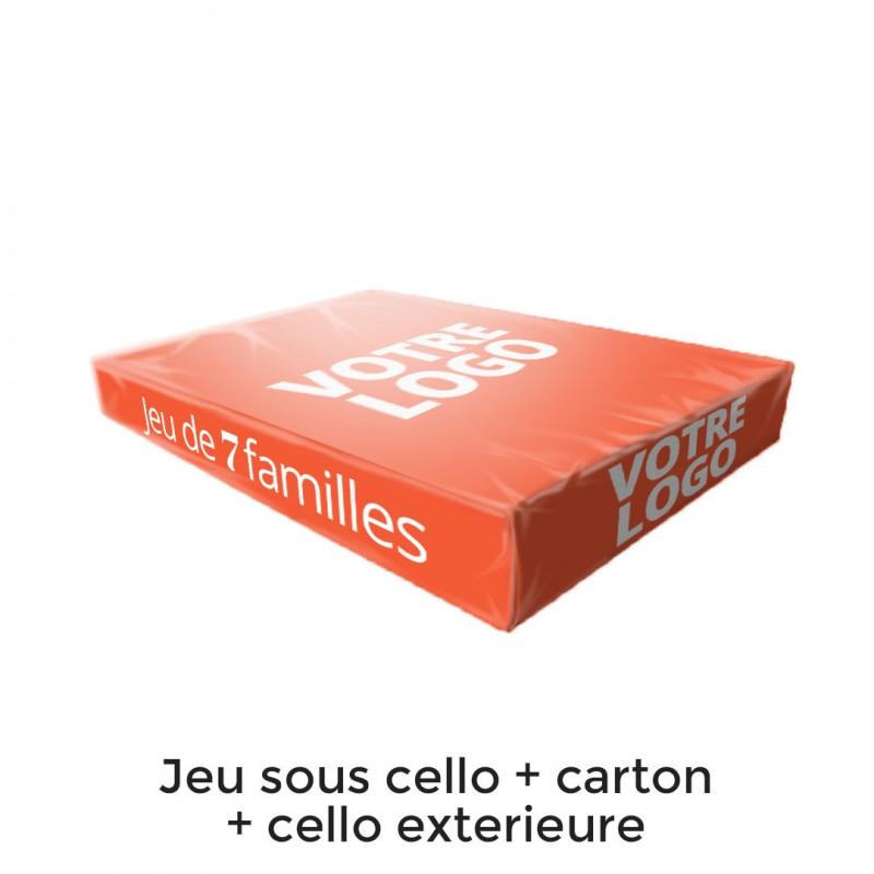 7 familles - Les transports - 44 cartes personnalisables