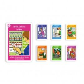 7 familles - Développement durable - 44 cartes personnalisables