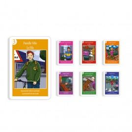 7 familles - Prévention routière - 44 cartes personnalisables