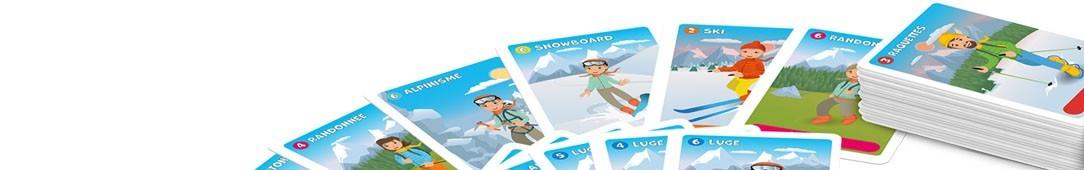 44 cartes (7 familles) personnalisables