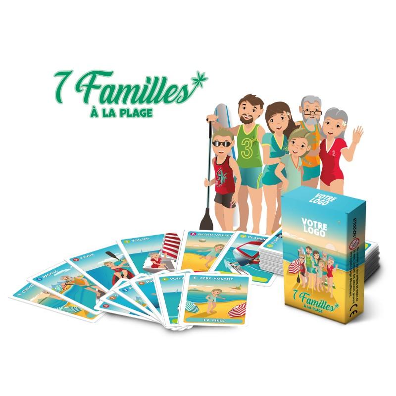 7 familles - Les animaux de nos campagnes - 44 cartes personnalisables