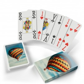 Jeu de belote gros points - 33 cartes personnalisables